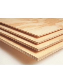 Pinewood Faced Elliotis Plywood 1220mm x 2440mm